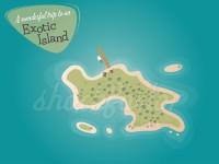 Eine fast einsame Insel