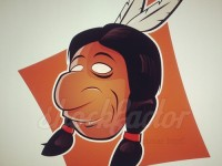 Indianer Cartoon