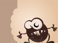 Hungriges Monster