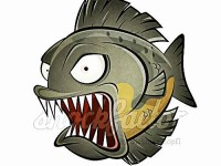 Piranha Cartoon