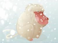 Japanische Schneeaffen