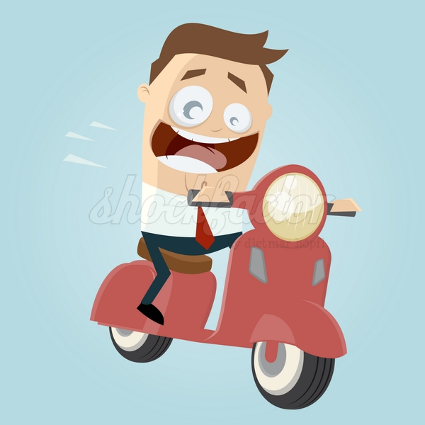 Roller Cartoon Clipart