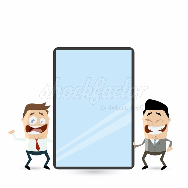 Tablet Gross Cartoon Clipart