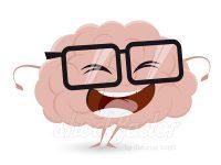 Lustiges Gehirn Clipart