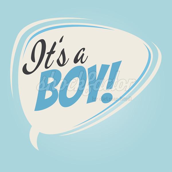 It's a boy