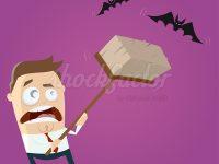 Halloween Fledermäuse Clipart