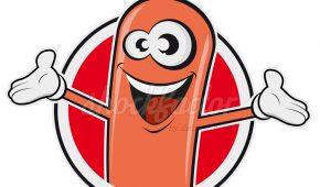 Heute gibt's wieder lecker Wurst Logo