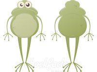Lustiger Frosch Clipart