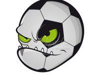 Böses Fußball Maskottchen