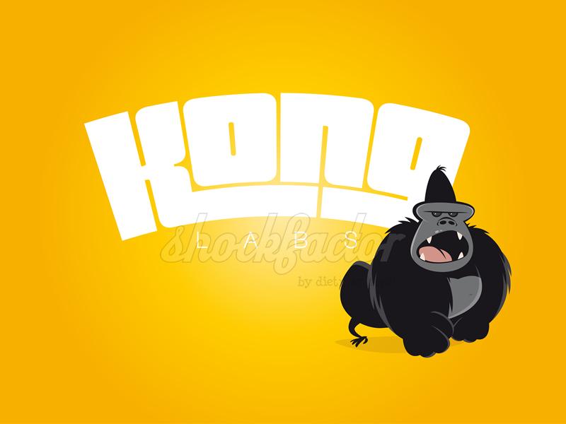 Gorilla Logo Böse