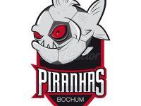 Piranha Logo für einen Verein