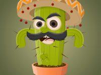 Mexikanischer Kaktus Clipart