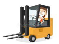 Gabelstapler Clipart Logistik