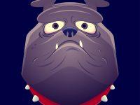 Englische Bulldogge Clipart