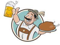 Biergarten Bier Logo