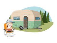 Campingfreuden im Sommer