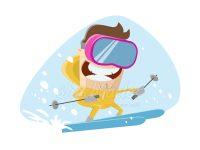 Bald ist wieder Ski Saison