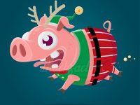 Im Schweinsgalopp