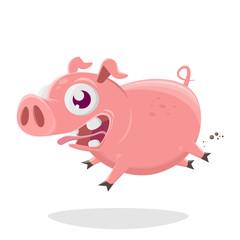 Lustige Schweine Kollektion