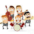 Lustige Musik Band