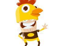 Karriere im Hühnerkostüm