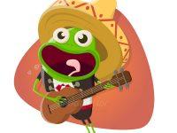 Ein singender Frosch