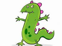 Ein Dinosaurier