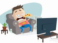 Pizza und Netflix