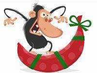 Was schenkt man einem Affen?