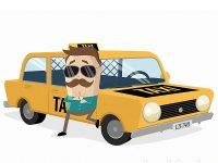Braucht jemand ein Taxi?