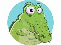 Krokodil Cartoon
