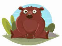 Ein lustiger Bär