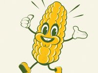 Hier kommt der Mais!